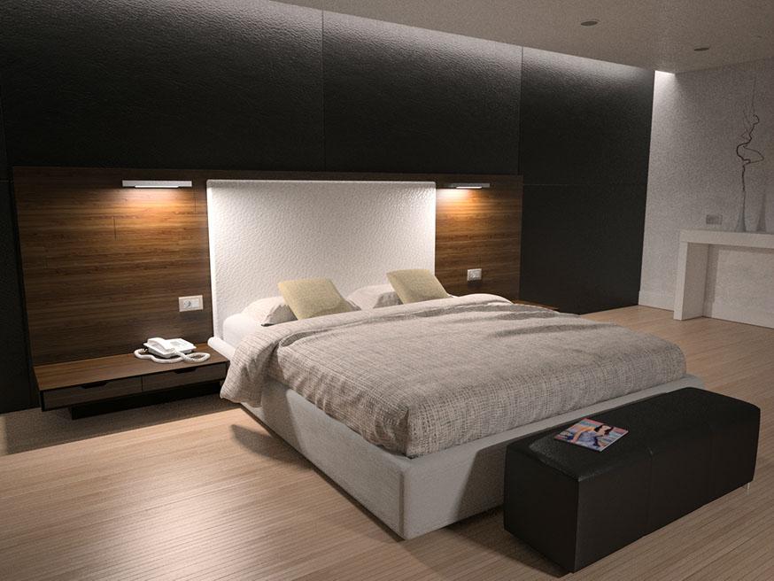 Dise o habitaciones hotel for Diseno de interiores para cuartos