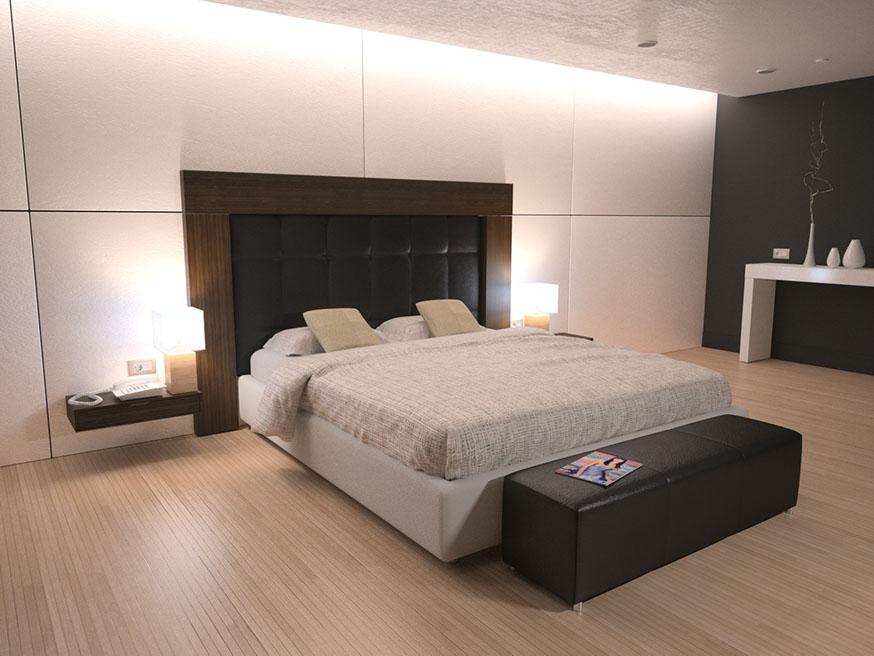 Dise o habitaciones hotel for Oficina bbva malaga