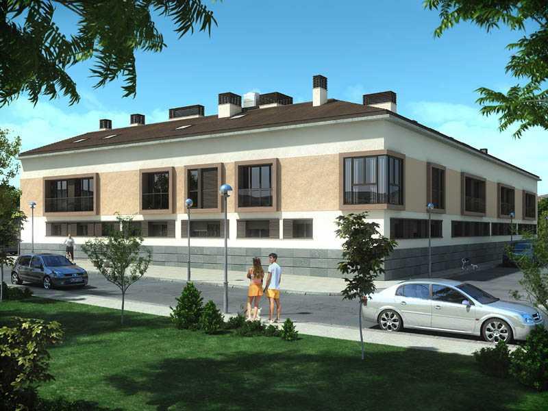 19 viviendas arganda del rey for Oficina bbva malaga